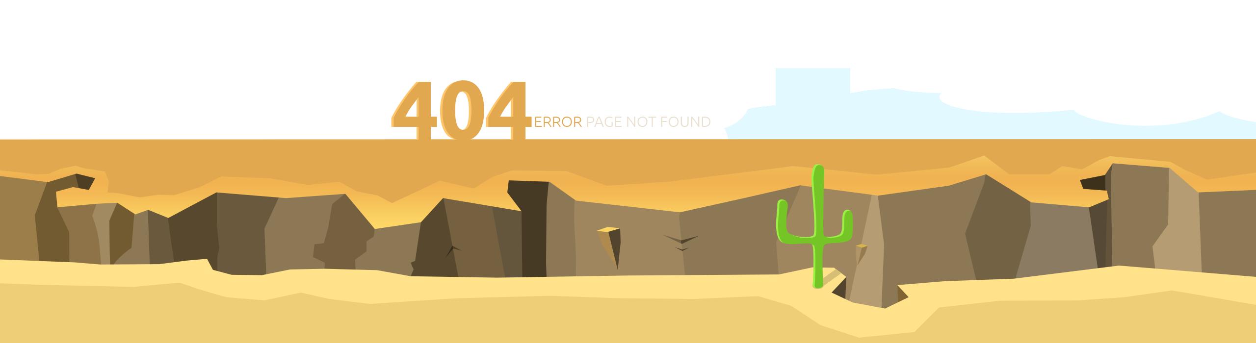 قالب صفحه 404 بصورت حرفه ای